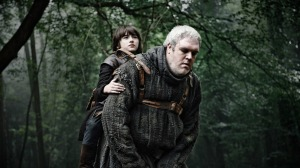"Bran Stark: ""Getting pushed from the tower by Jaime/Nikolay was awful, but at least I kept my good looks, developed magical powers and got a piggyback ride through the forest on a big friendly giant - amongst other people."""