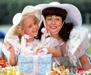 In Mommie Dearest (1981), Faye Dunaway's Joan Crawford thought the road to perfection for her daughter, Christina, began with raising her exactly in her own image.