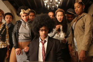 DEAR WHITE PEOPLE (2014) has been hailed by critics as one of the most important films about college life.  Its characters are all obsessed with social media as an indicator of academic and professional success.  Should we give in to the obsession?